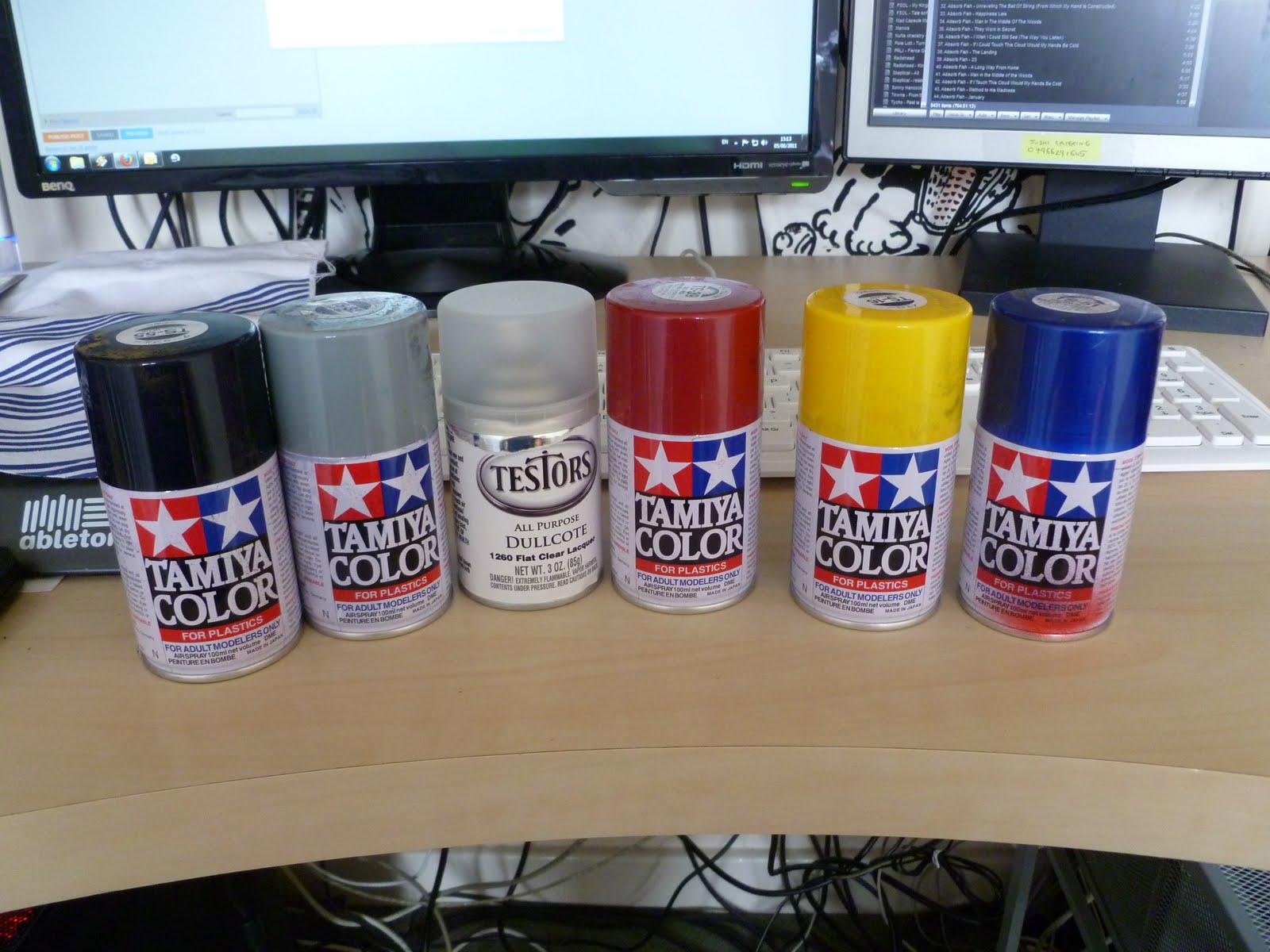 Best Spray Paint For Gundam Models