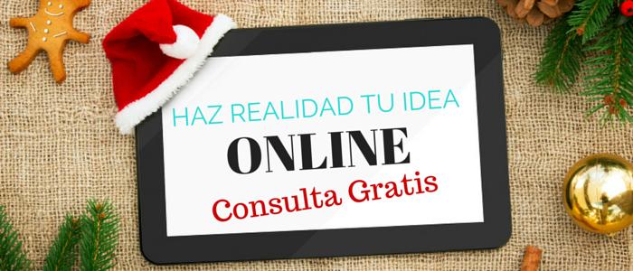 Consulta Gratis: Haz Realidad tu Idea en Navidad