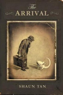 The Arrival Shaun Tan cover