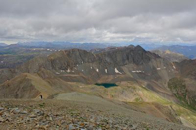View from the Summit of Handies Peak