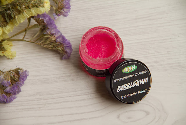 Lush Bubblegum exfoliante labial