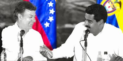 Maduro y Juan Manuel Santos | Copolitica