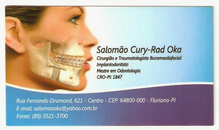 Dr. Salomão Oka - Cirurgião e Traumatologista Bucomaxilofacial