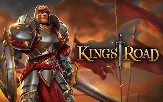 Screenshots of the Kings road for Android tablet, phone.