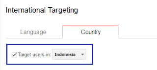 Contoh target di indonesia ( disesuaikan )