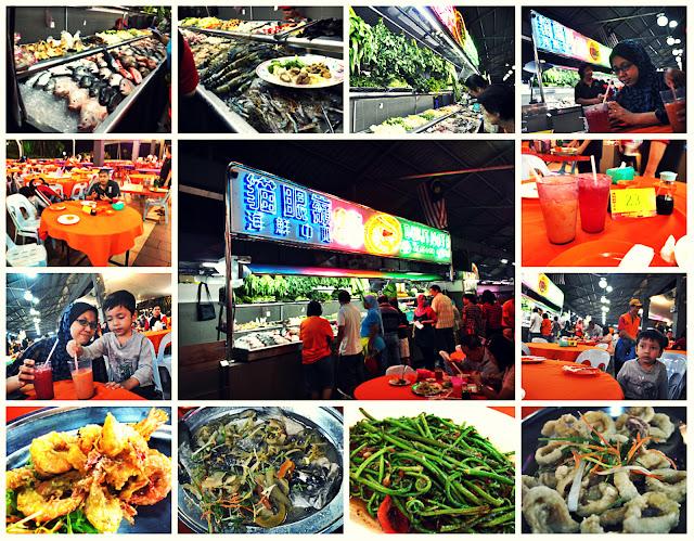seafood kuching