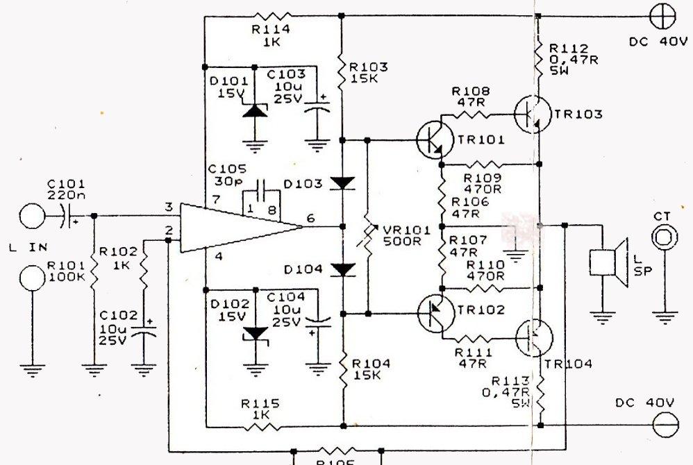 Kelas kelas tambahan pada daya power amplifier sound system part 3 ccuart Choice Image