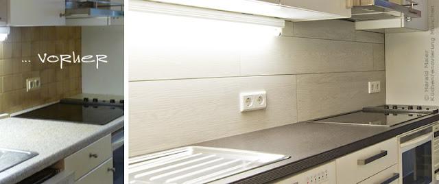 moderne Gestaltung für Küchenrückwand