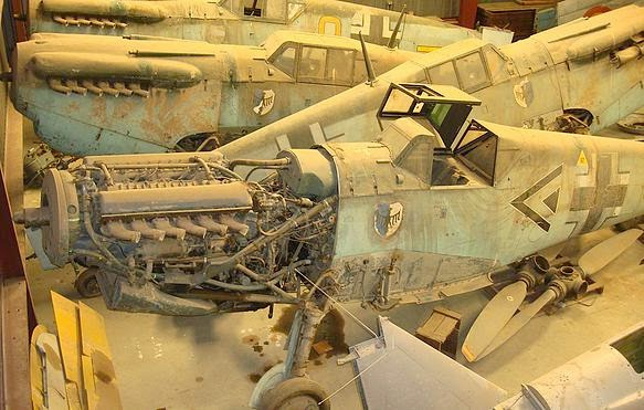Heading For Auction At The Deep Discounted Price Of 1M Each Including Spare Parts Undamaged And Unrestored All Five 1600 Hp Warbirds Were Last