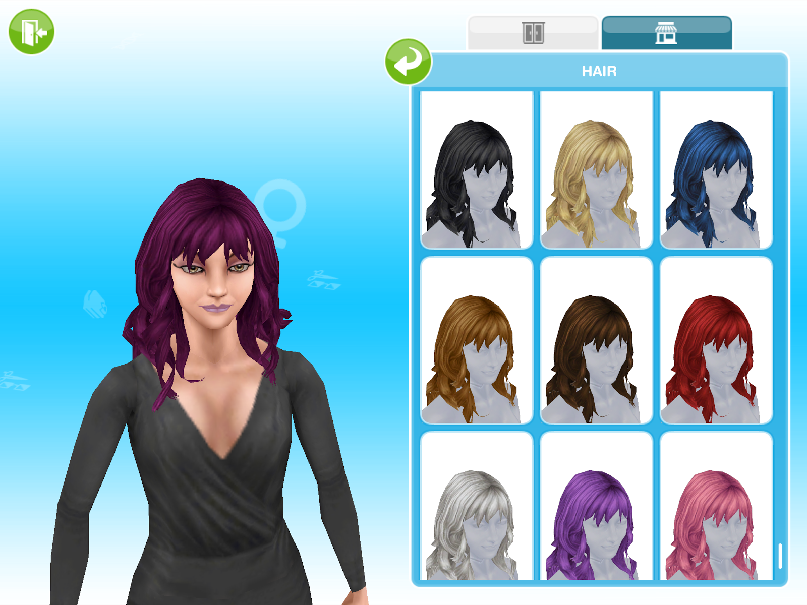 Missy39s Sims And Stuff The Sims Freeplay Boutique Hair Event