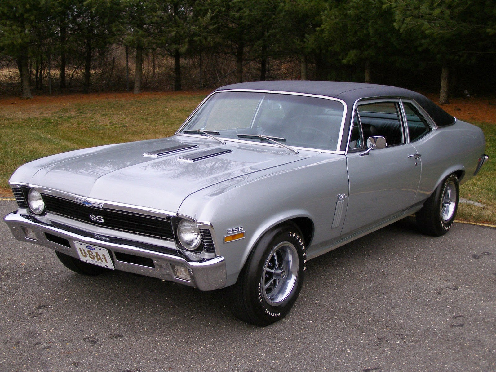 All american classic cars 1970 chevrolet nova ss 2 door coupe