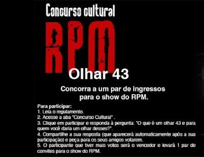 concurso cultural-rpm-olhar 43-show-rio preto