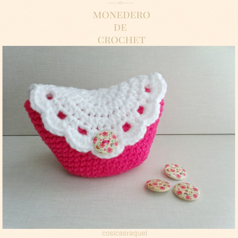 Monederos crochet - Manualidades con ganchillo ...