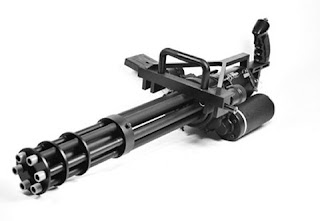 AH-56 Cheyenne Minigun - Gatling type machine gun Multi barrel firearm