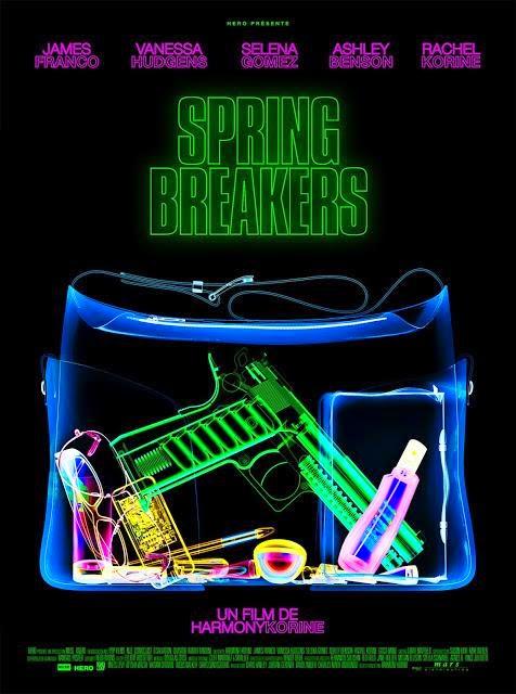 Afiche de Spring Breakers