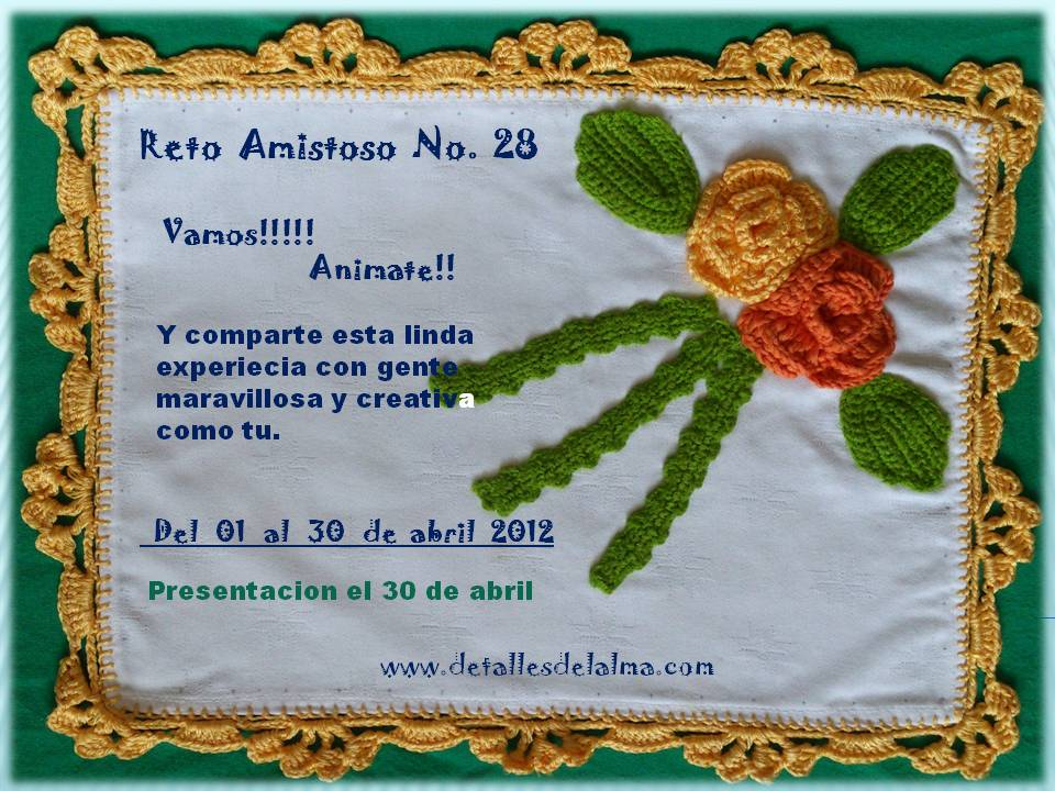 Reto amistoso No. 28*