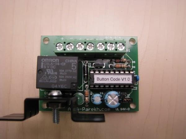Botão Code com PIC16F628A