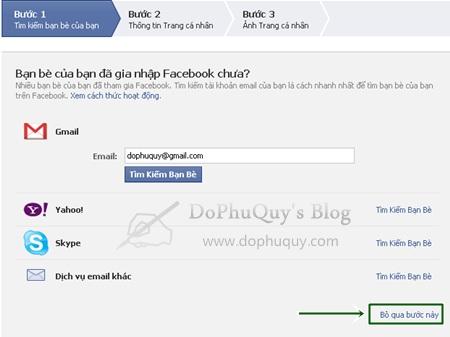 Đăng ký tài khoản Facebook với giao diện tiếng Việt