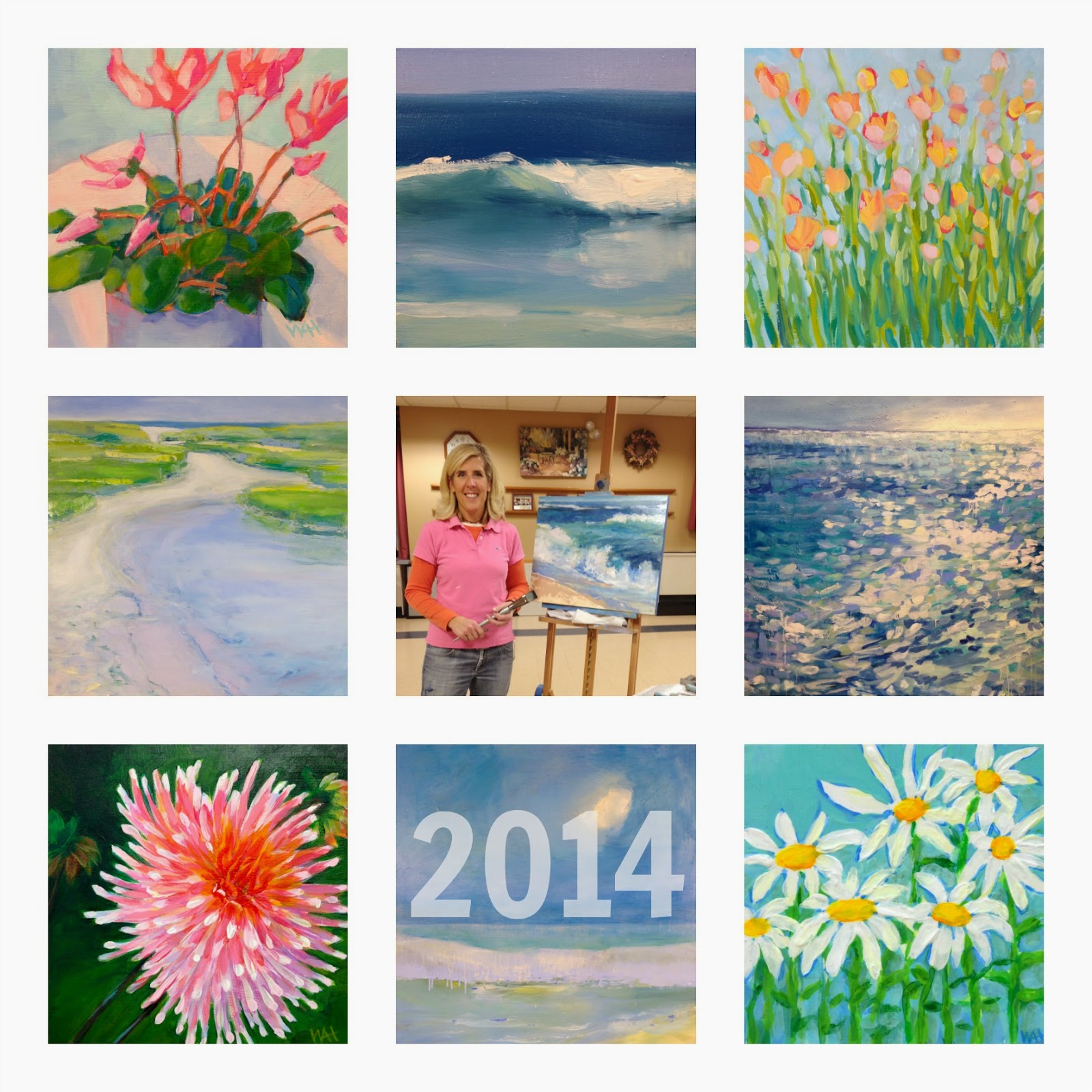 artist whitney heavey yearly review 2014 cape cod landscape painter