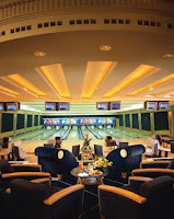 The bowling alley in brunei Empire Hotel