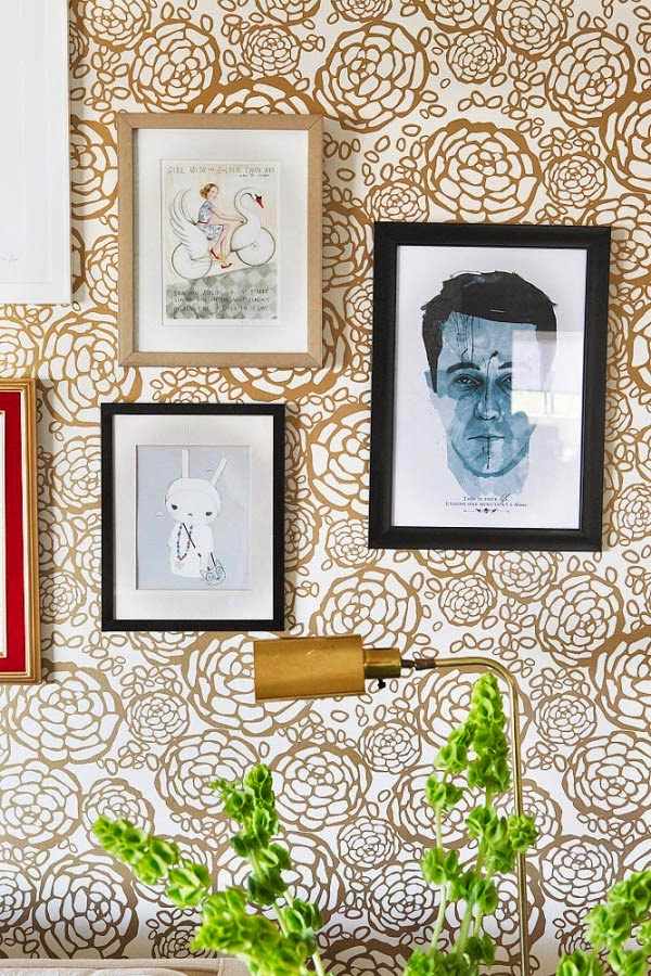 Vintage chic blog decoraci n vintage diy ideas para for Papel pintado ka internacional