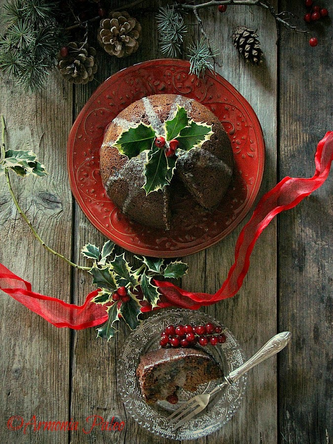 Christmas Pudding - Budino di Natale Inglese di Armonia Paleo