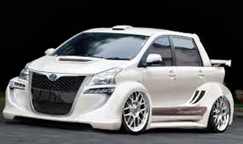 Modifikasi mobil avanza warna silver all new