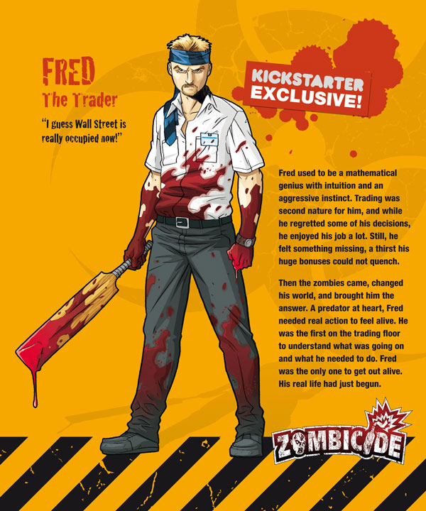 Zombicide personajes FRED