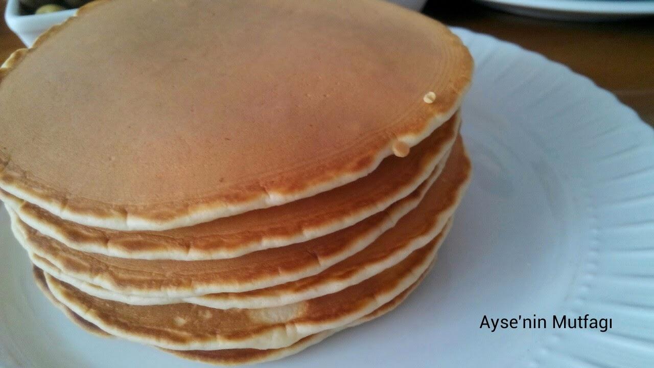 Ayşe'nin Mutfağından Nefis Yemek Tarifleri Pankek tarifi  Pancake