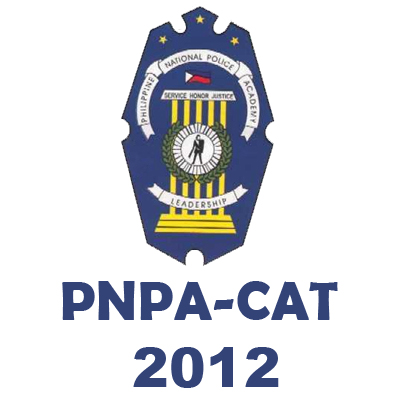 2012 PNPACAT Results - PNPA Cadet Admission Test 2012 Results
