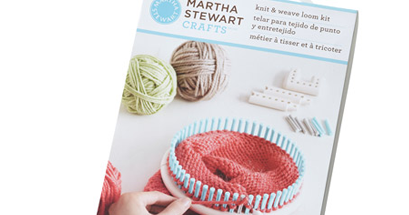 Artisan des arts martha stewart knit and loom kit review for Martha stewart crafts knit weave loom kit
