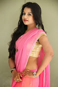 Bhavya Sri Photos in Pink Halfsaree-thumbnail-19
