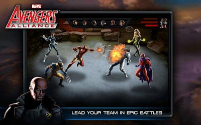 avengers alliance apk mod