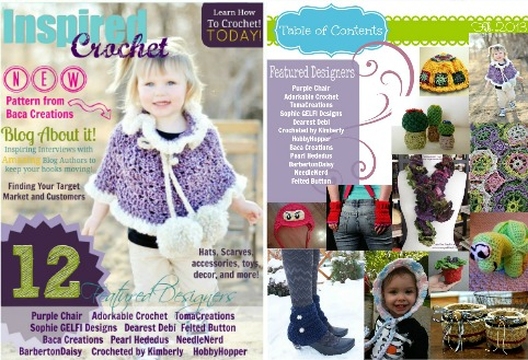 Tangled Happy Inspired Crochet Magazine Giveaway