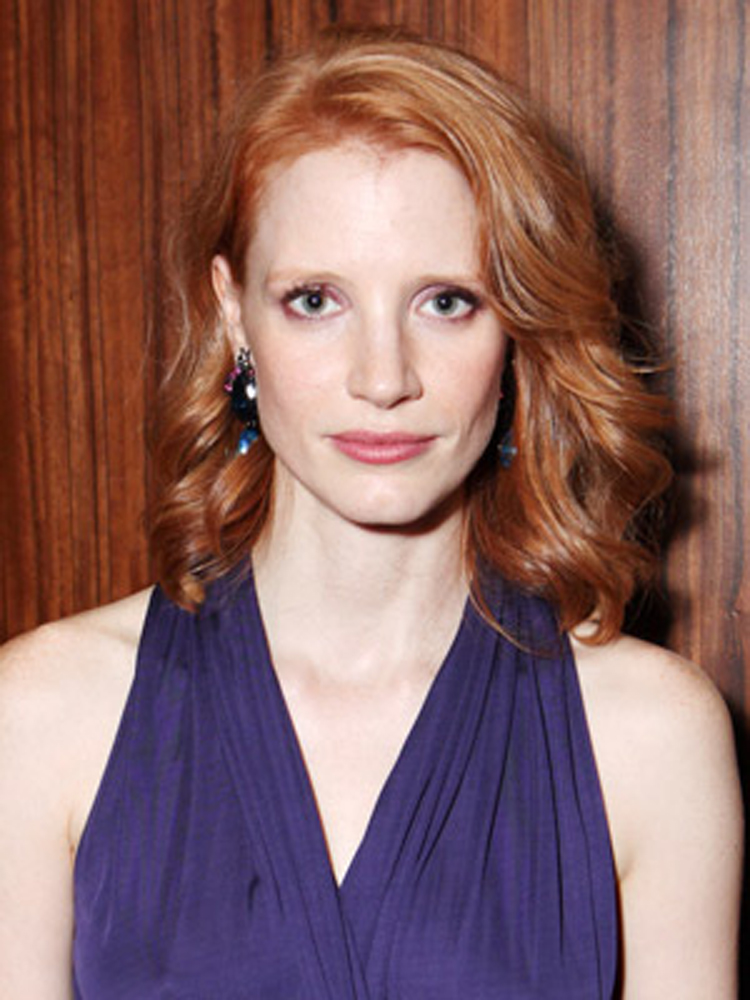 Celebrity Bob Hairstyles Jessica Chastain