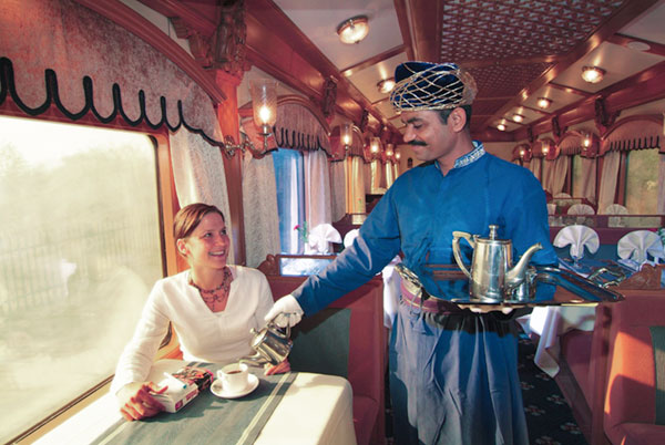 The Indian Maharaja voted Asias Leading luxury train