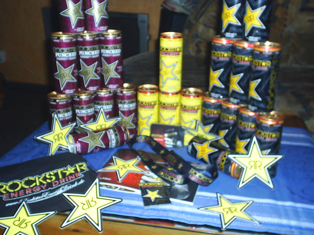 Mini Kühlschrank Rockstar Energy : Mimmi´s teststrecke rockstar energy drink