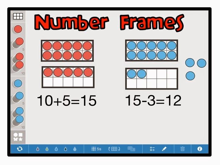 apps number frames
