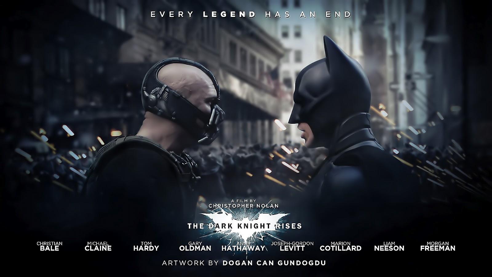 The Dark Knight Rises HD wallpapers Batman movie