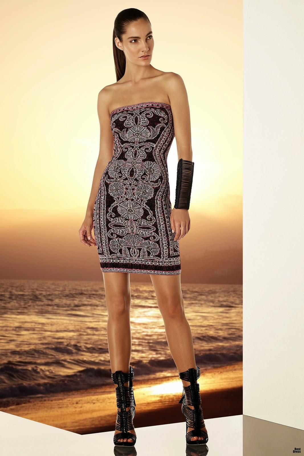 Vestidos cortos de temporada   Moda y Vestidos 2015