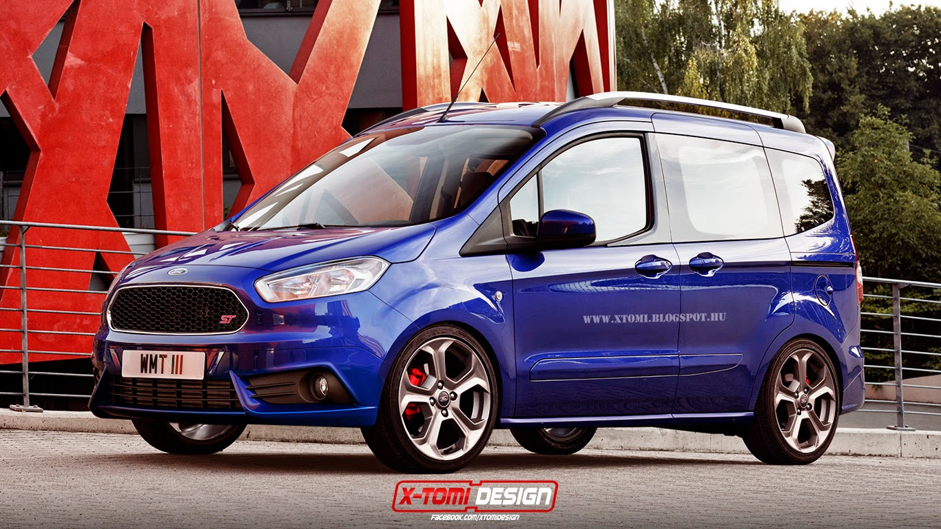 X tomi design ford transit courier st