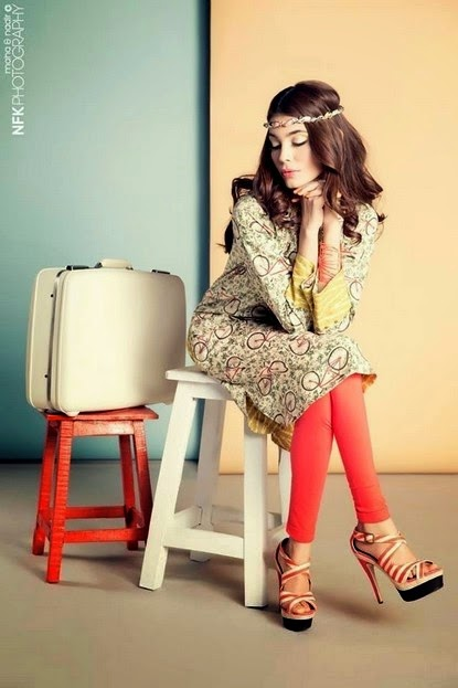 Zara Shahjahan Summer Kurti Fashion for Coco