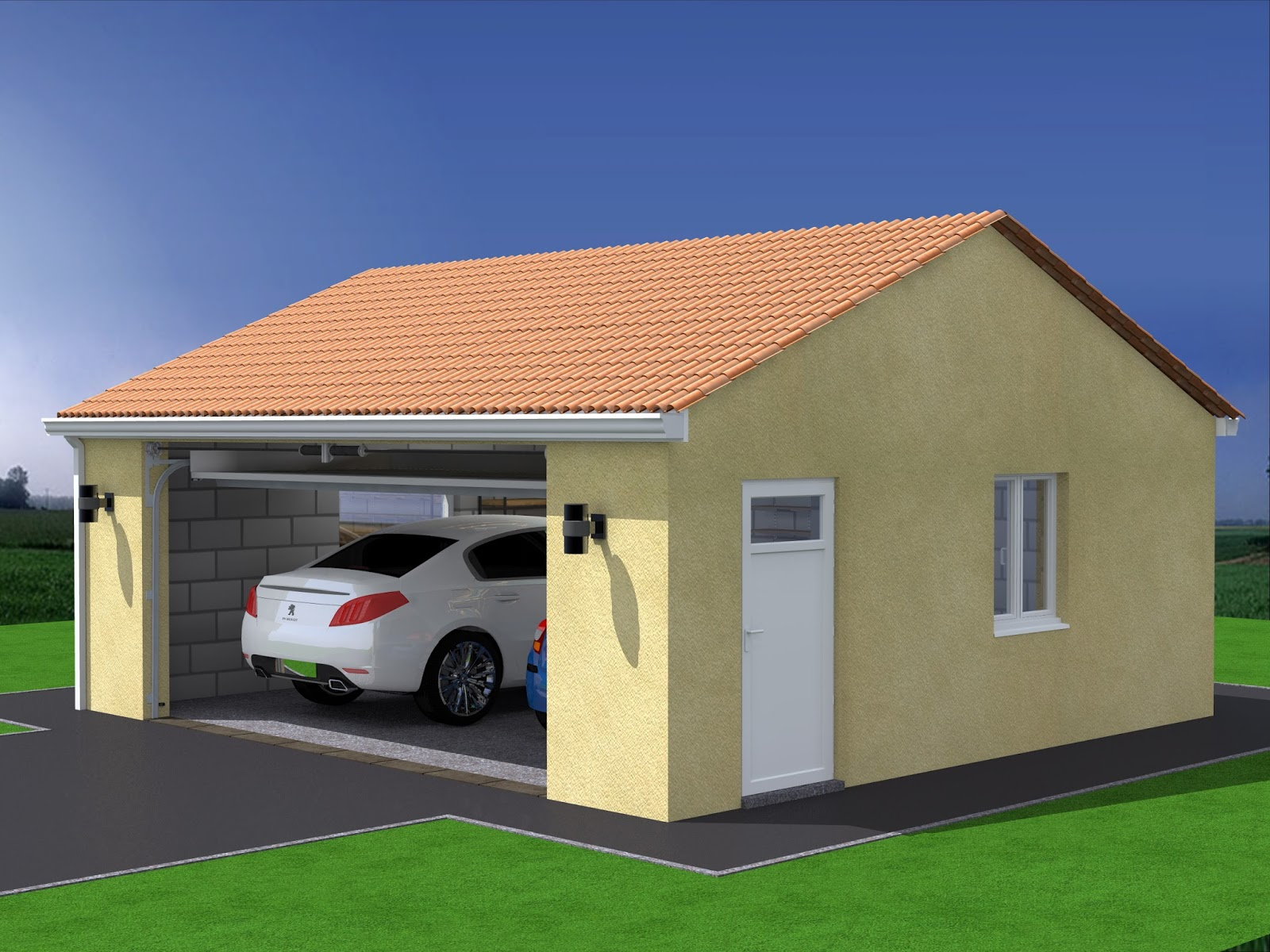 Projet de construction de garage double - Truc construction garage ...