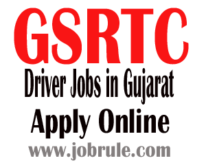 GSRTC (Gujarat State Transport) Recruitment of 1242 Drivers November 2013