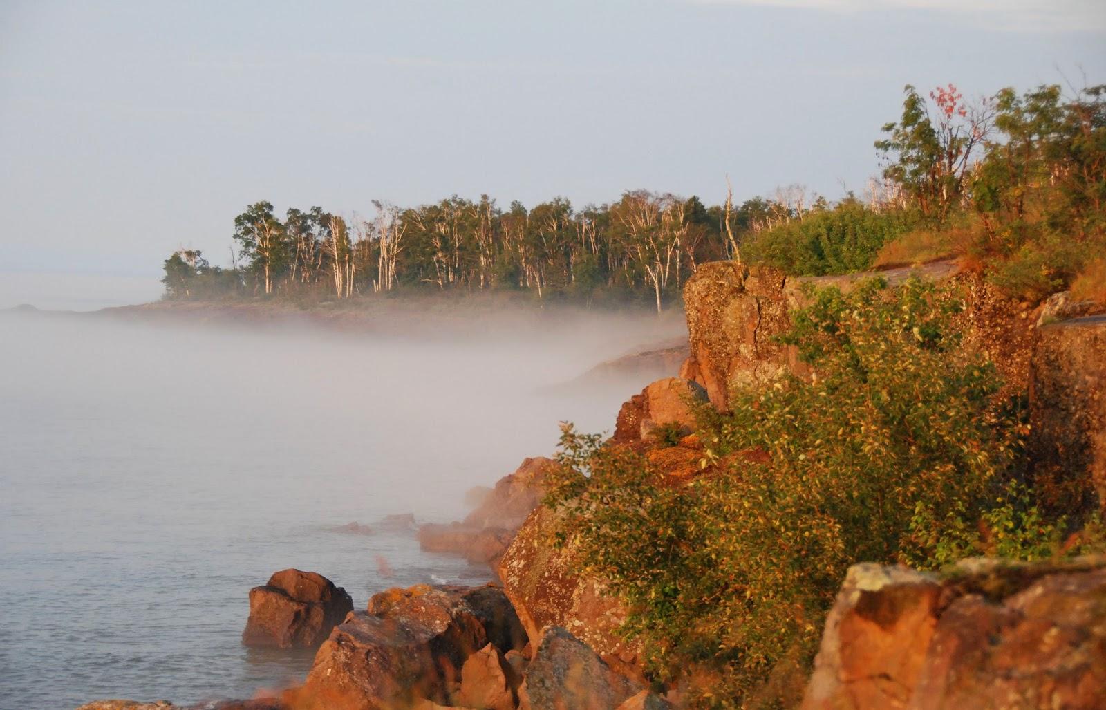 lake superior, gooseberry falls state park