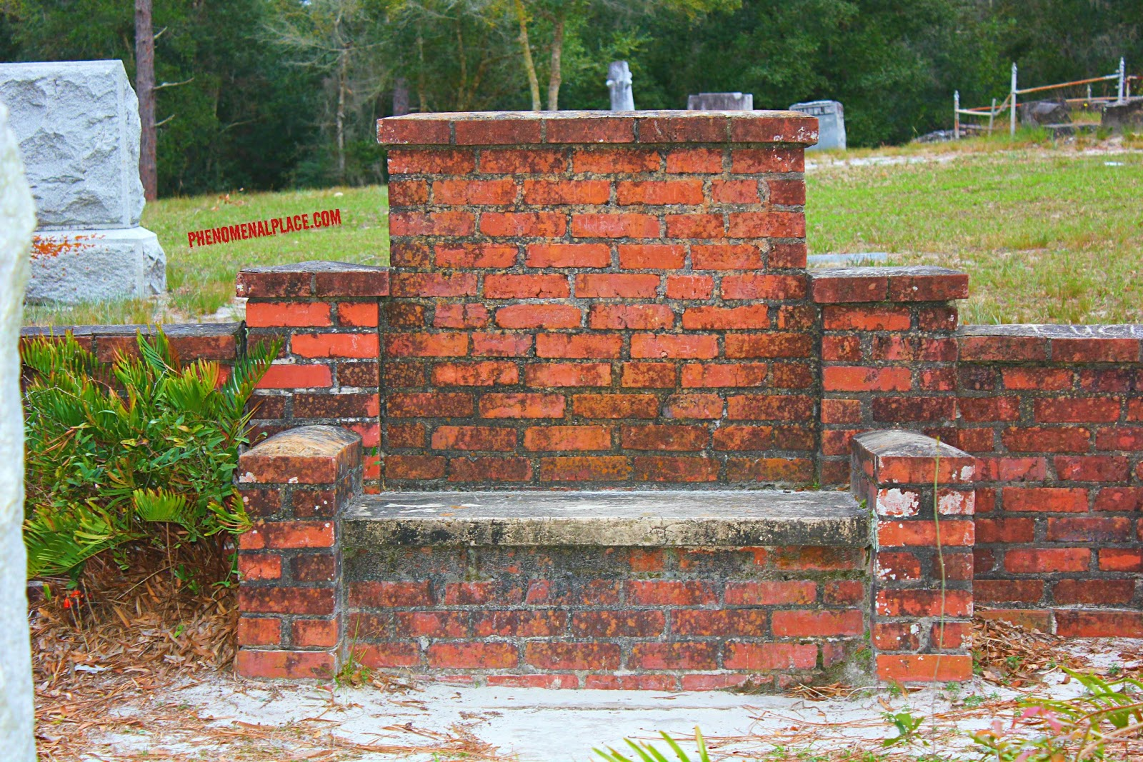 devils chair in florida is often visited by ghost hunters and paranormal experts - Cassadaga Halloween
