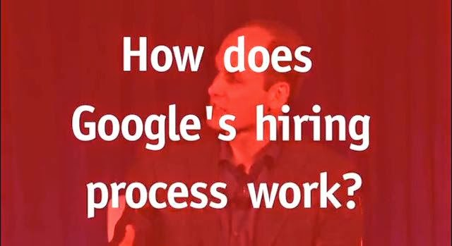 how Google hires