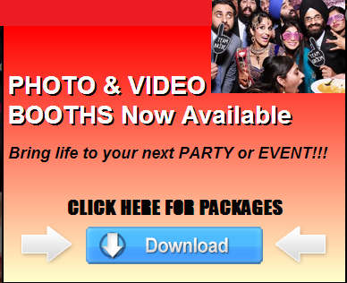 Photo & Video Booths Now Available . CLICK HERE FOR PACKAGES