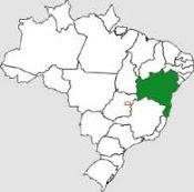 Brasil até no mapa: