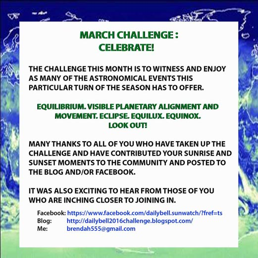 MARCH Challenge 2016